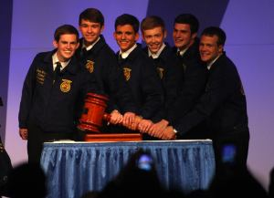National FFA Officers 2013